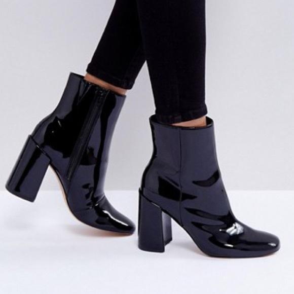 ASOS Shoes | Asos Black Patent Leather